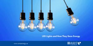 LED Lights and energy savings