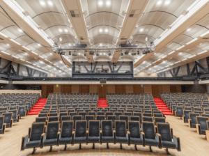Theatre interior with Airis LED lighting