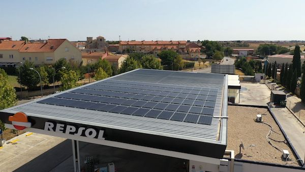 Solar Repsol compressor 600