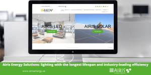 Airis Energy Solutions: lighting with the longest lifespan and industry-leading efficiency