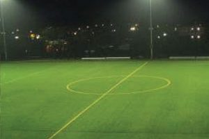 Sports field with Airis Smart LED lighting
